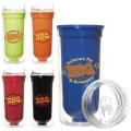 Double Wall Bright Tumbler - 16oz.