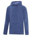 ATC TM DYNAMIC HEATHER FLEECE HOODED YOUTH SWEATSHIRT