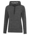 ATC TM DYNAMIC HEATHER FLEECE HOODED LADIES' SWEATSHIRT