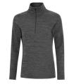 ATC TM DYNAMIC HEATHER FLEECE 1/2 ZIP LADIES' SWEATSHIRT