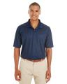 CORE365TM Men's Express Microstripe Performance Piqué Polo