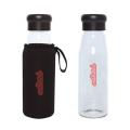 EVORA 420 ML. (14 OZ.) BOROSILICATE GLASS BOTTLE WITH SLEEVE